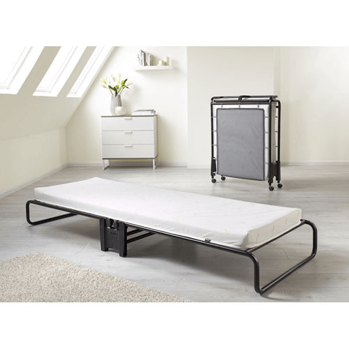 Smart Folding Bed with Airflow Fiber Mattress (300 lbs Weight Capacity) 103702(WFFS)