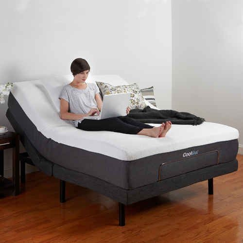 Classic Brands Adjustable Comfort Bed Base with Wireless Remote (Multiple Sizes)(Weight Capacity 850 Lbs)