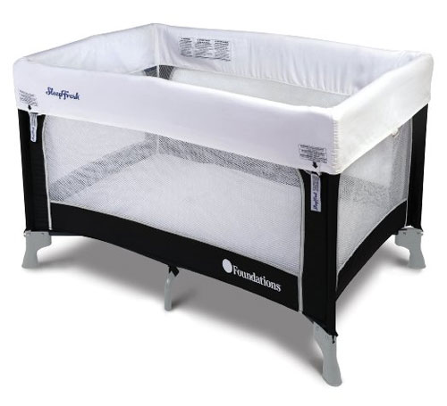 SleepFresh Celebrity Portable Crib 1456037(AZFS)