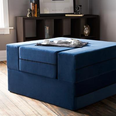 Jaxx Zipline Modular Sleeper Chair Amp Ottoman Set 1638570