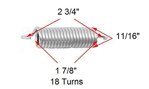 18 Turn Replacement Furniture Springs Daybed Rollaway