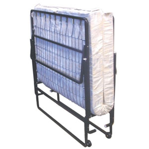 Steel Rollaway Bed With Mattress 3_CFR(GLFS)