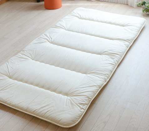 Japanese Traditional Mattress Futon 6 Fold Rollaway Beds