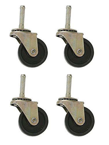 Rollaway Bed Replacement Ball Bearing Swivel Wheels / Casters - Set of 4 (AZFS)