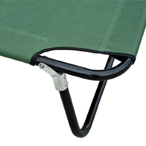 Outsunny Deluxe Folding Military-style Camping Cot 04-0002(AZFS)