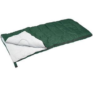Stansport Redwood Ultra Light Sleeping Bag (Green, 55-Degree) 520(AZFS)