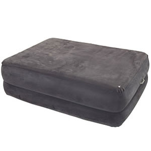 Intex Raised Foam-Top Air Bed w. Built-In Pump 6695_ (KDYFS)