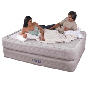 Intex Airbed Queen w. Built-In Pump 66961 (KDYFS16)