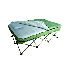 Full Size Camping Bed Set W Lightweight Sleeping Bag