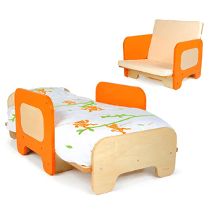 P'kolino Toddler Bed and Chair PKFFBORG(AZFS261)