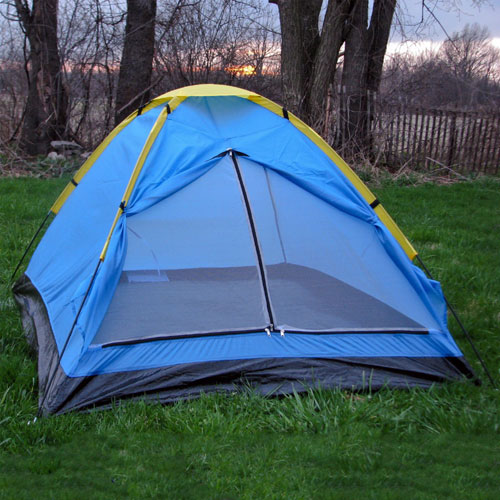 Happy Camper Two Person Tent With Carry Bag 80-170T(AZFS)