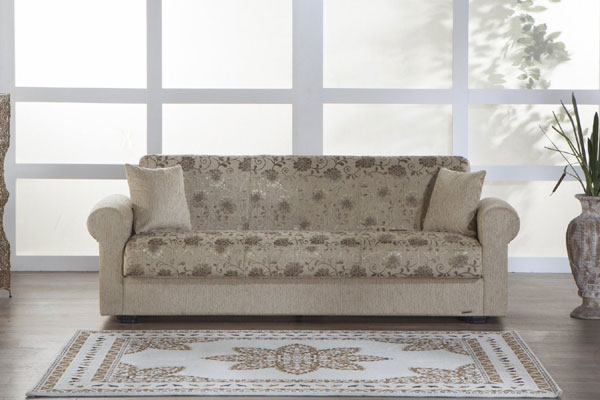 Elita Sofa Sleeper - Yasemin Beige (AZFS)
