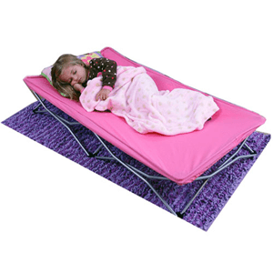 Regalo My Cot Portable Toddler Bed, Pink 5005(AZFS)