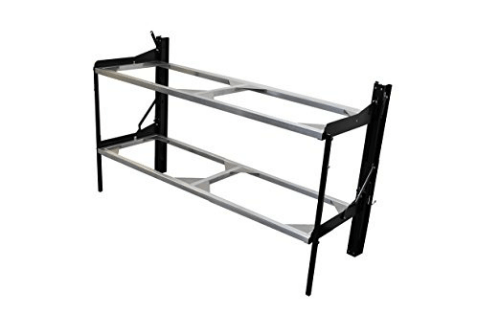 Dual Twin Individual Folding Bunk System Cargo Size With Mattress Support Rail Kit 960013(LFCFS)