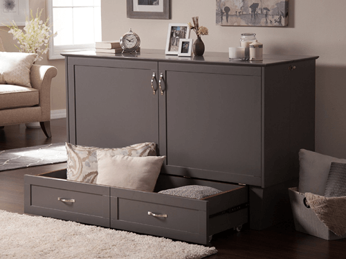 Twin Size Madison Murphy Bed Chest (AZFS)