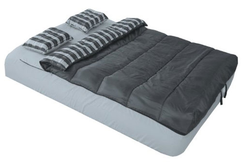 Adventure Trails Queen Size 6 Piece Bed in a Bag Set for a Queen Air Mattress (AZFS)