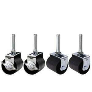 Heavy Duty Caster Wheels For Bed Frame Set Of 4 (2 Locking & 2 None Locking)