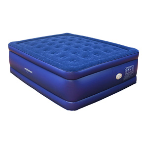 King Size Raised Deluxe Coil Beam Flock Top Air Bed Bd 1225gt Azfs149 Rollaway Beds Shipped