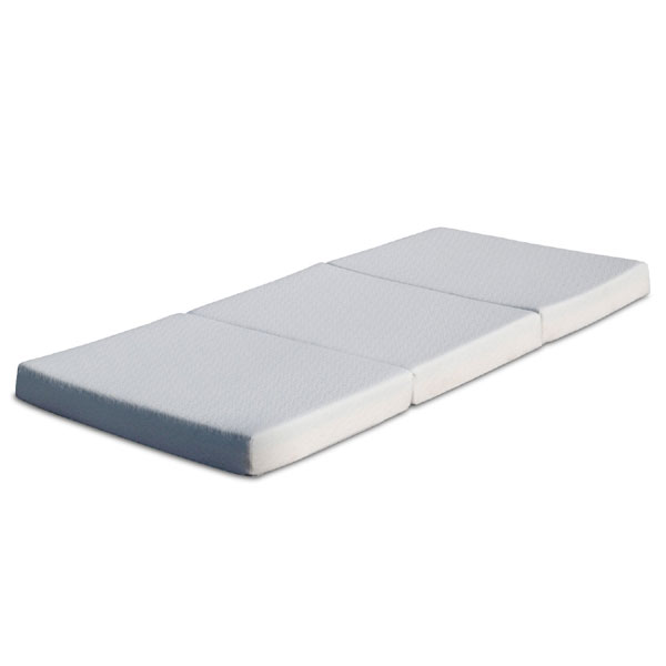 "4"" Tri-Fold Memory  Foam Mattress With Storage Bag BPM-4TM(AZFS)"