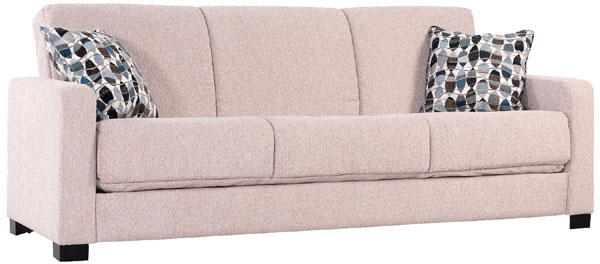 Convert-a-Couch with Wavy Leaf Pillows
