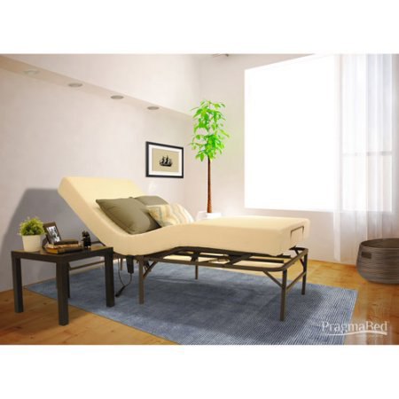 Bed-In-A-Box Pragmatic Adjustable Bed Head and Foot EVYBX-MAF1(PBFS)(300 Lbs Weight Capacity)