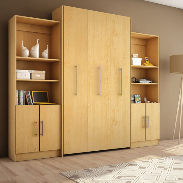Twin Storage Wall Bed S207-5(WFFS) - Rollaway Beds Shipped Within 24 ...