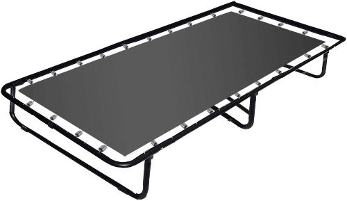 Continental Sleep Portable Folding Bed (300 Lbs Weight Capacity)