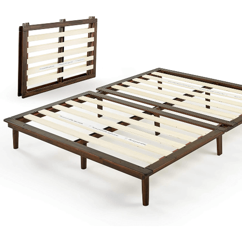 The Boobie Solid Wood Platform Bed Frame (Multiple Sizes)(500 Lbs Weight Capacity)