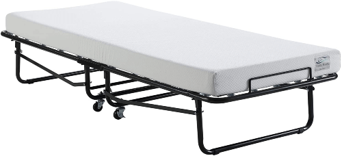 Artum Hill Rollaway Bed With Gel Memory Foam (300 Lbs Weight Capacity)