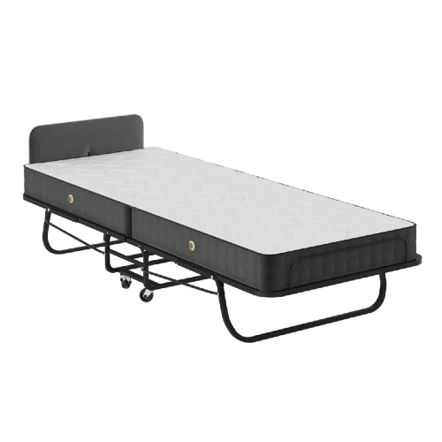 Full Size Heavy Duty Roll away Bed With 5.5 In. Mattress (350 Lbs Weight Capacity)
