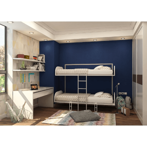 Folding Extra Long Twin Bunk Bed (WFFS)