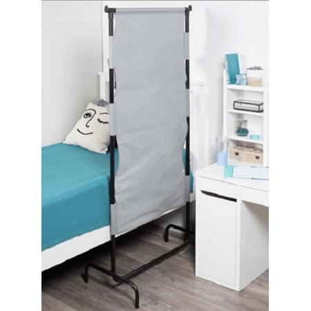 Privacy Room Divider with Organization