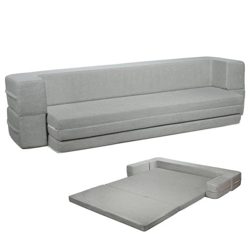 Sofa Couch Bed Queen to Twin Folding Mattress DYBD-QT(OFS)