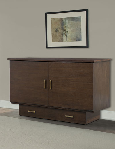 Full Size Traditional Flip Top Cabinet ZzZ Bed 502-15-A(FUFS)