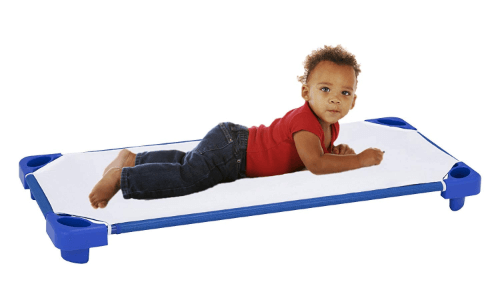 Sprogs Heavy Heavy Duty Stack-able Daycare Cot SPG-021-5(AZFS)