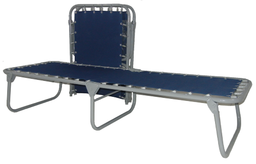 Heavy Duty Steel Folding Spring Cot (375 Lbs Weight Capacity)