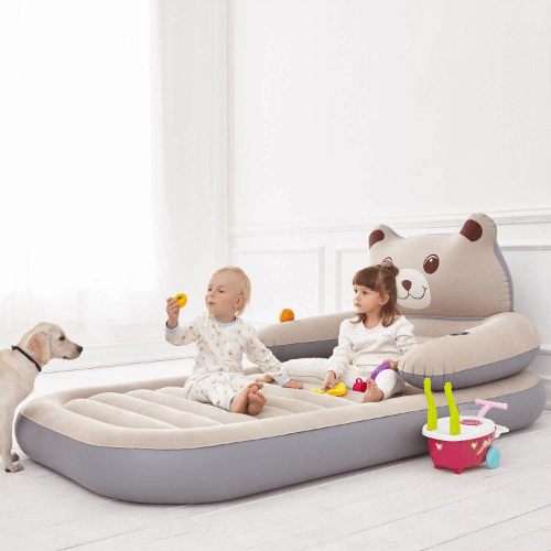 Twin Size Air Mattress Inflatable Toddler Travel Bed Firm Airbed (AZFS)