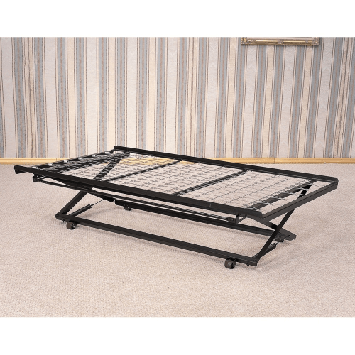 Full Size Adult Pop Up Trundle Bed Set SP16F (400 Lbs Weight Capacity)