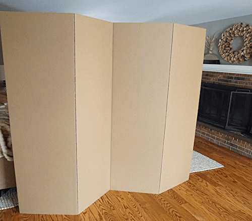 Rent The DormCo Privacy Room Divider - Kraft(Ships Throughout The USA)