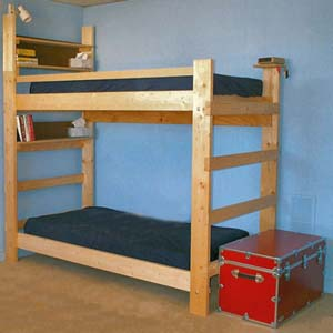 Rent The Heavy Duty All Sizes Solid Wood Bunk Bed (hdswbb)