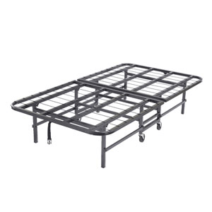 Heavy Duty Metal Platform Folding Guest Bed Frame (KBFS)