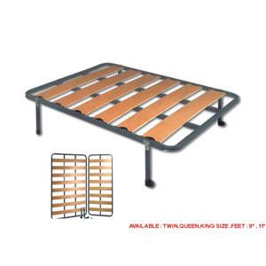 wooden slat bed frame kyrbeef - Wooden Slat Bed Frame