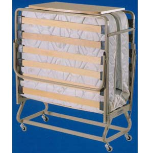 The Twin Size Supreme Deluxe Roll Away Bed With Orthopedic