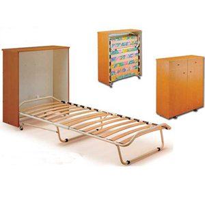 The Picasso Custom Made Bed In A Box (VF) - Rollaway Beds Shipped Within 24 Hours