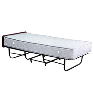 "Roll-A-Way Bed 6"" Spring Mattress And Large Wheels (400 lbs Wt. Capacity) M39(AVMFS)"