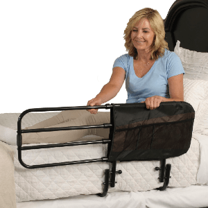 Stander Adjustable Adult Bed Rail (300 Lbs Weight Capacity)