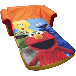 Marshmallow 2-in-1 Flip Open Sofa, Sesame Street's Elmo (WFS)