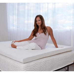100% Visco Elastic Memory Foam Mattress Topper B0017ZPGWY(AZfS)