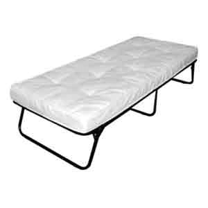 Sleep Master Folding Guest Bed With Steel Frame 01110413(300 Lbs Weight Capacity)