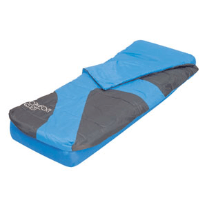 Aslepa Single 2-in-1 Airbed with Sleeping Bag